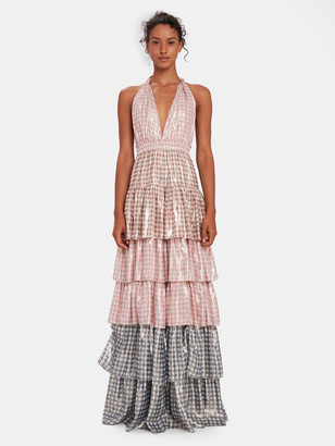 LoveShackFancy Clarissa Ruffle Maxi Dress