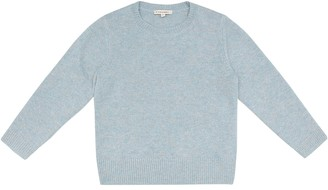 Caramel Earls Court cashmere sweater