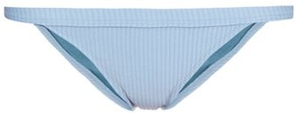Made by Dawn Traveler Ribbed Bikini Briefs - Womens - Light Blue