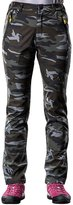 RAINSTAR Women's Waterproof Softshell Pants Camouflage Anti-UV Outdoor Sports Trousers US M (Asian Tag 2XL)