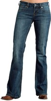 Stetson Multicolor-Stitched Jeans - Low Rise, Bootcut (For Women)