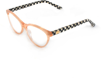 Mackenzie Childs Rose Gold Leno Readers, +3.00