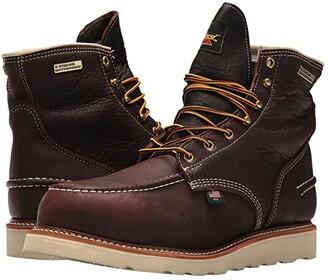 Thorogood AH-1957 6 Moc Toe Waterproof Steel Toe (Brown) Men's Boots