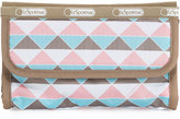Le Sport Sac Elena Printed Cosmetic Pouch, Pink Pyramid