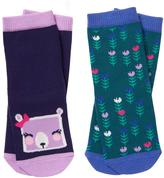 Gymboree Bear & Flower Socks