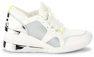 MICHAEL Michael Kors Trainer Colorblock Wedge Sneakers