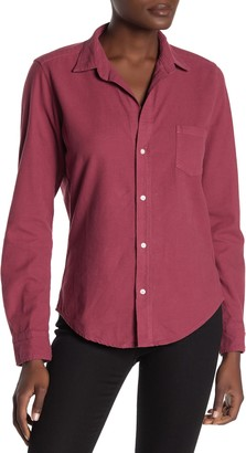 Frank And Eileen Barry Button Front Long Sleeve Shirt