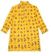 Gucci Children's rose bud print silk dress