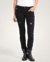 Forever 21 Subtle Rock Skinny Jeans