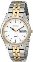 Seiko Men's SNE032 Two-Tone Stainless Steel Solar Watch