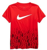 Nike Boy's Dry Just That Good Graphic T-Shirt