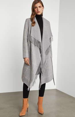 BCBGMAXAZRIA Wool Wrap Coat