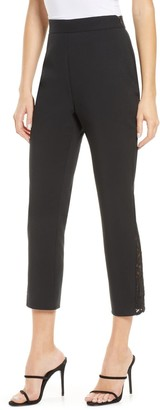 Cooper St Stand Back Lace Inset Pants