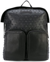 Jimmy Choo Lennox backpack - men - Cotton/Leather - One Size