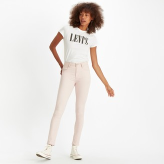 Levi's 721 High Rise Skinny Cotton Mix Trousers