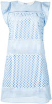 MICHAEL Michael Kors embroidered dress - women - Cotton - L