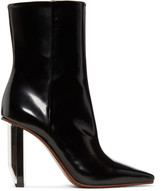 Vetements Black & Silver Reflector Heel Boots