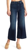 Mother The Swooner Cropped Bootcut Jeans