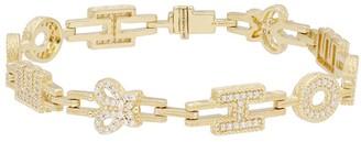 "Judith Ripka 14K Clad Diamonique Hope 7-1/4"" Tennis Bracelet"