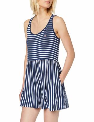 Tommy Jeans Women's Tjw Summer Stripe Playsuit Dress