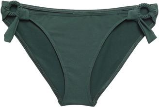 Eres Studio Sepia Ring-embellished Low-rise Bikini Briefs