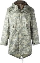 Ten C Ten-C camouflage parka and padded jacket set