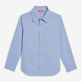 Joe Fresh Kid Boys' Uniform Shirt, Powder Blue (Size M)