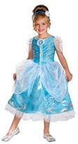 Disney Princess Girls' Cinderella Sparkle Deluxe Costume