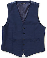 Murano Barcelona Collection Check Vest