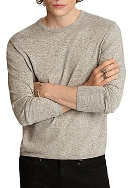 John Varvatos Huntington Cotton Crewneck Sweater