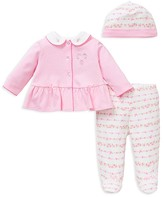 Little Me Infant Girls' Dot & Floral 3-Piece Set - Sizes Newborn-9 Months