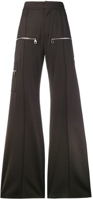 Chloé Super Flared Trousers
