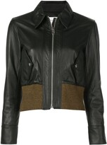 Proenza Schouler White Label Leather Bomber
