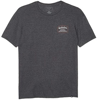 Quiksilver Rear View (Charcoal Heather) Men's Clothing