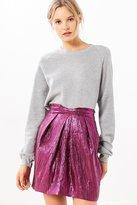 Silence & Noise Silence + Noise Purple Rain Mini Skirt