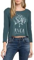 RVCA Women's La Petite Rose Print Tee