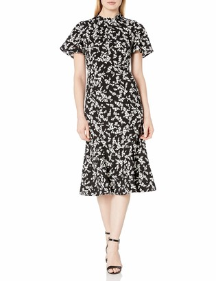 French Connection Women's Twist Neck Dress