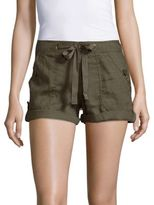 Sanctuary Drawstring Cotton Shorts