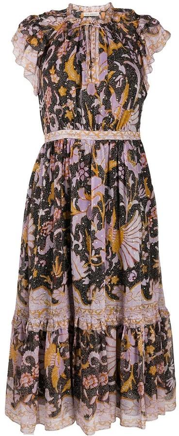 Ulla Johnson Floral Embroidered Shift Dress