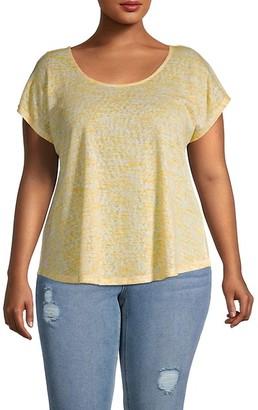 Bobeau Plus Crossback T-Shirt