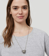 LOFT Twist Ring Necklace