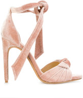 Alexandre Birman Jessica sandals - women - Leather/Velvet - 36