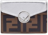 Fendi micro F is trifold wallet