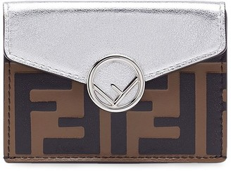 Fendi micro F is trifold wallet