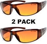 Moda HD Vision Anti-Glare Driving Glasses X-Loop 2 PACK w/ Free Micro Fiber Bag