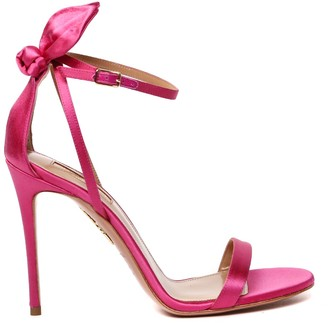 Aquazzura Deneuve Satin Sandals Heel 105mm