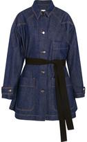 MM6 MAISON MARGIELA Oversized Denim Jacket - Dark denim