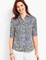 Talbots The Perfect Shirt - Paisley