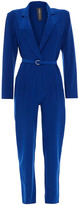 Thumbnail for your product : Norma Kamali Belted Ponte Jumpsuit