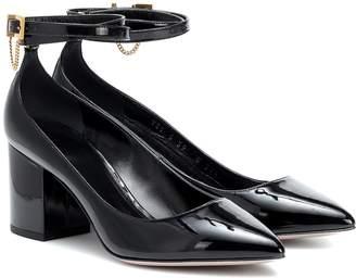 Valentino Garavani patent-leather pumps